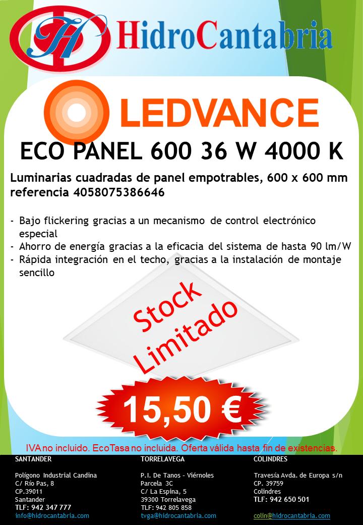 Oferta en Paneles LED de Ledvance