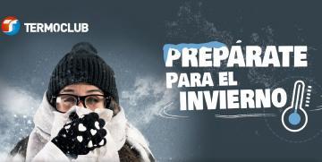 Prepárate para el invierno.